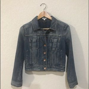 EXPRESS | women's denim jean jacket